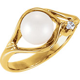 Ring Mounting for 6 - 8 mm Pearl