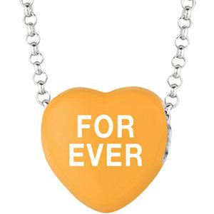 Sweethearts® Enamel Heart Shaped Necklace