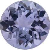 Round Genuine Tanzanite