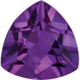 Trillion Genuine Amethyst