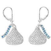 HERSHEY'S KISSES Diamond Lever Back Earrings