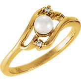 Ring Mounting for 4.0 mm Pearl