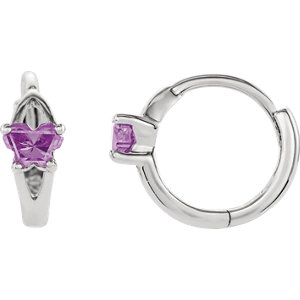 Bfly® AZ Birthstone<br> Hinged Earrings