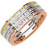 3/8 ct tw Stackable Diamond Ring