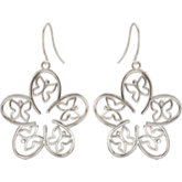 Floral & Butterfly Design Earrings