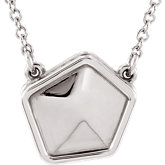 Geometric Center or Necklace
