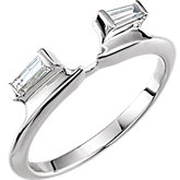 Diamond Ring Wrap or Mounting