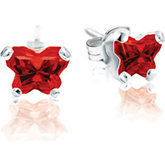 Bfly® CZ Birthstone Earrings