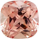 Antique Square Chatham Created Champagne Sapphire