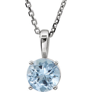 Youth Birthstone Necklace or Pendant Mounting