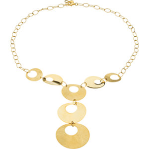 Circle Fashion Necklace