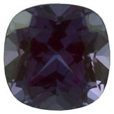 Antique Square Chatham Created Alexandrite