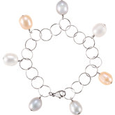 Freshwater Cultured Multi-Colored Pearl Bracelet
