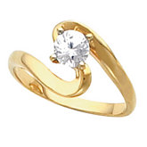 Engagement Ring Mounting and Band