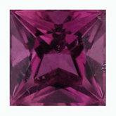 Square Genuine Pink Tourmaline (Black Box)