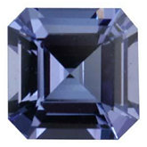 Modified Square Genuine Tanzanite (Black Box)