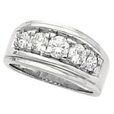 3/4 ct tw Men's Diamond Ring