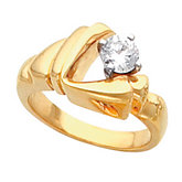 Solitaire Ring Mounting for Diamond