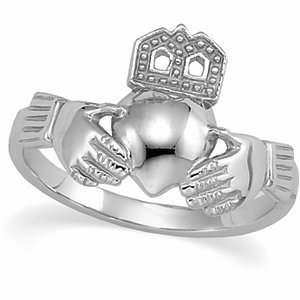 Ladies Claddagh Ring