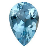 Pear Genuine Aquamarine (Black Box)