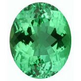 Oval Genuine Green Paraiba Tourmaline (Black Box)