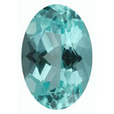 Oval Genuine Blue Paraiba Tourmaline (Black Box)
