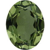 Oval Imitation Peridot