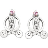 Disney® Cinderella Carriage Earrings