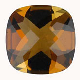 Antique Square Genuine Golden Tourmaline (Black Box)
