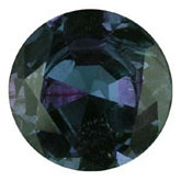 Round Genuine Alexandrite (Black Box)