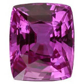 Cushion Genuine Pink Sapphire (Black Box)