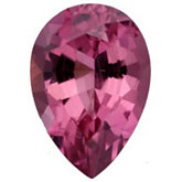 Pear Genuine Pink Tourmaline (Black Box)