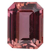 Emerald/Octagon Genuine Imperial Precious Topaz (Black Box)