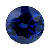 Round Genuine Blue Sapphire (Black Box Matched Sets)