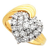 Heart-Shaped Ring Mounting