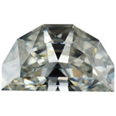 Half Moon Lab Created Moissanite