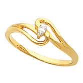 Accented Teen Ring