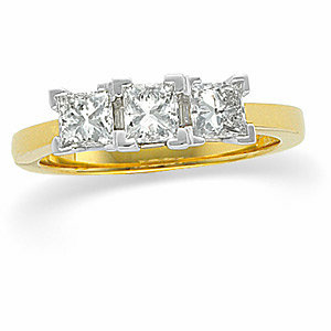 3-Stone Diamond Anniversary Ring