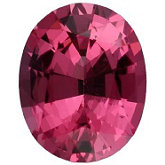 Oval Genuine Pink Spinel (Black Box)