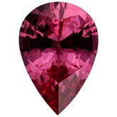 Pear Genuine Pink Spinel (Black Box)