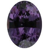 Oval Genuine Purple Spinel (Black Box)