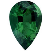 Pear Genuine Green (Chrome) Tourmaline (Black Box)
