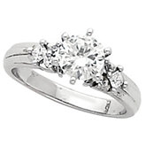 Engagement Base Ring or Band Mounting