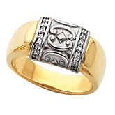 Etruscan-Inspired Ring Mounting