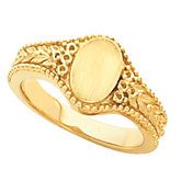Ladies Signet Ring