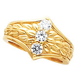 3-Stone Fashion Ring