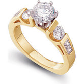 Engagement Base Ring Mounting