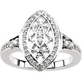 Ring Mounting for Diamonds