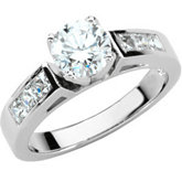 Engagement Base Ring Mounting & Band