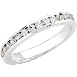 Diamond Semi-Mount Engagement Ring or Band